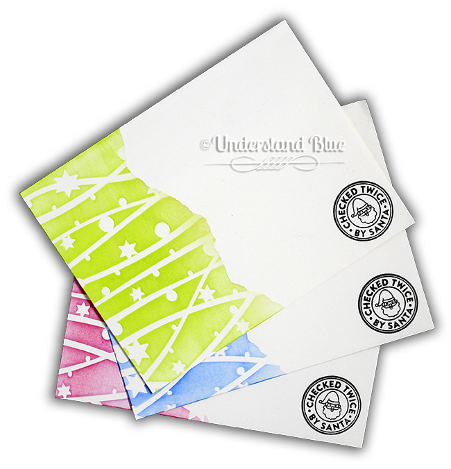 Holiday Envelopes - Hero Arts by UnderstandBlue