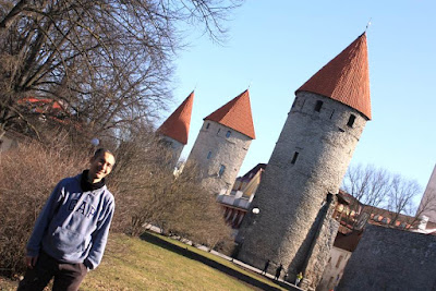 City walls of Tallinn