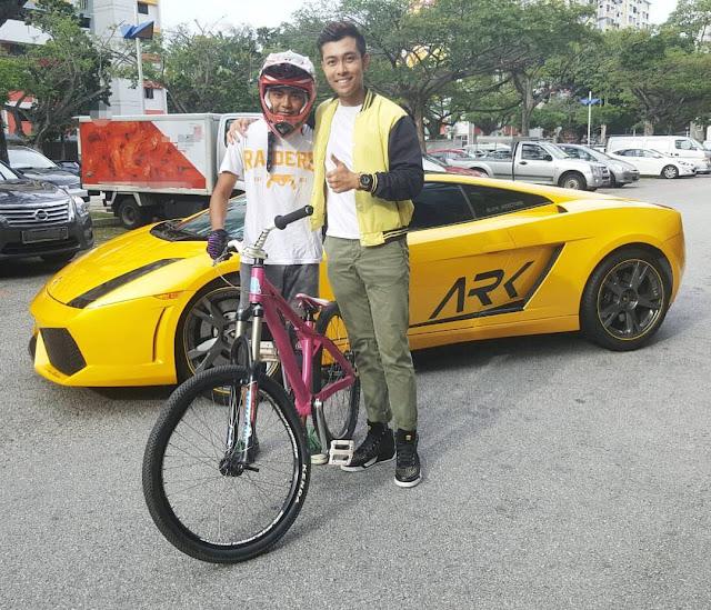 BMX Rider Uses Lamborghini Gallardo As A Ramp