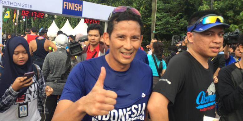 Penjelasan Sandiaga soal Minta Maaf atas Nama Pemprov DKI pada Jakarta Marathon 2016