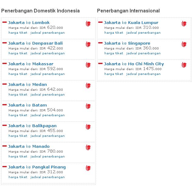 Harga Tiket Lion Air Murah Tiket