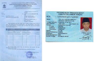 Inilah Bukti TGH Lalu Gede Sakti Asli Orang Lombok Tengah