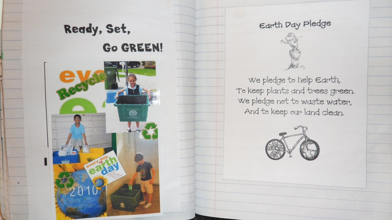 Just 4 Teachers Sharing Across Borders Earth Day Pledge