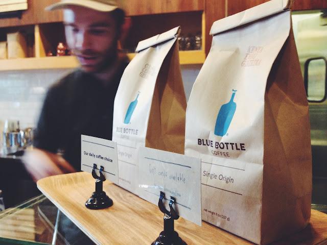Blue Bottle Coffee in Williamsburg, Brooklyn