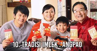 Tradisi Imlek : Angpao