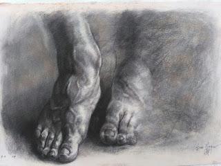 los pies de Eivar Moya