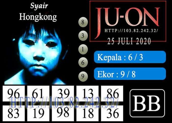 Kode syair Hongkong Sabtu 25 Juli 2020 320