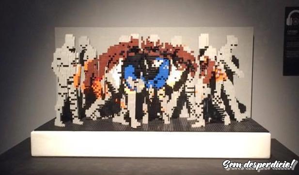 Dica de Cultura: Exposição The Art of The Brick