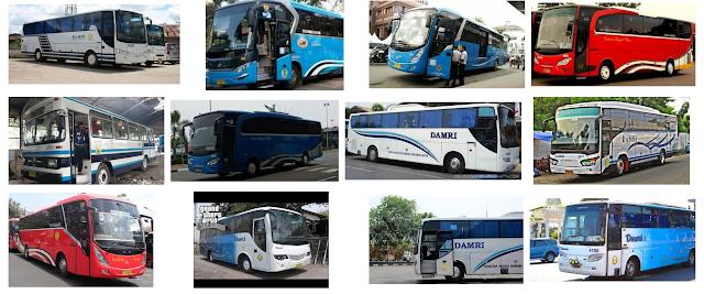 Harga Tiket Bus Damri Jakarta Lampung
