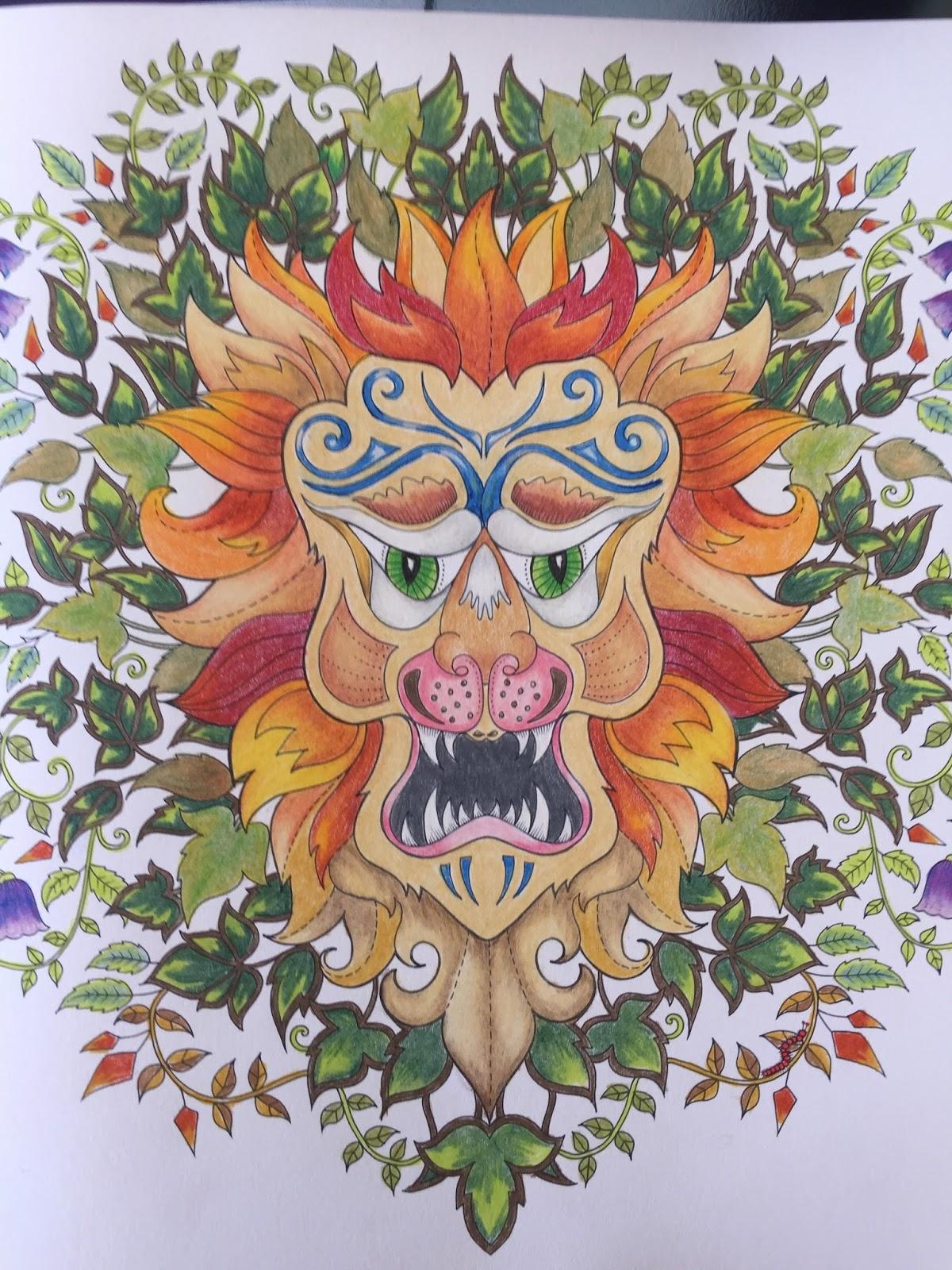 A Piece Done With Derwent Color Pencils