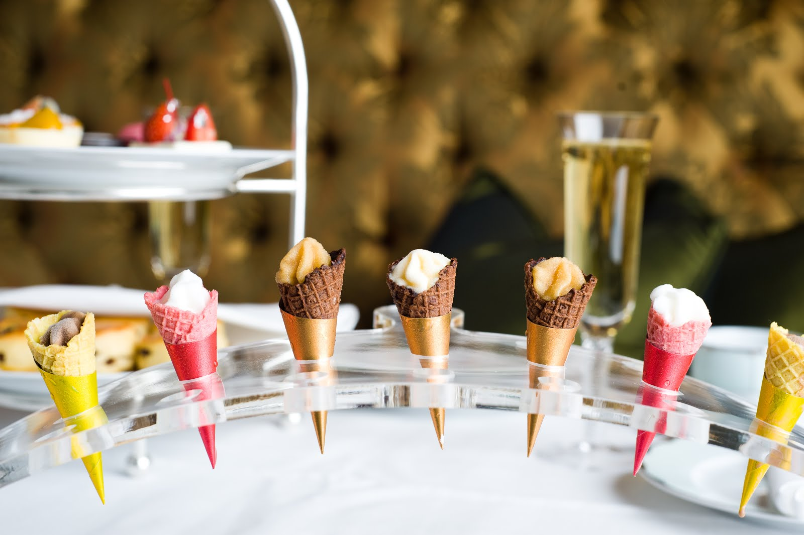 Ice Cream Champagne Afternoon Tea at the Dorchester, review
