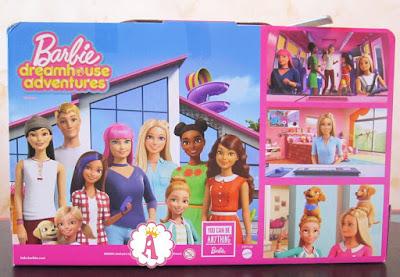 Коробка с вертолетом для Барби