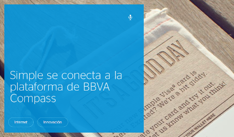 Annonce BBVA Compass Simple