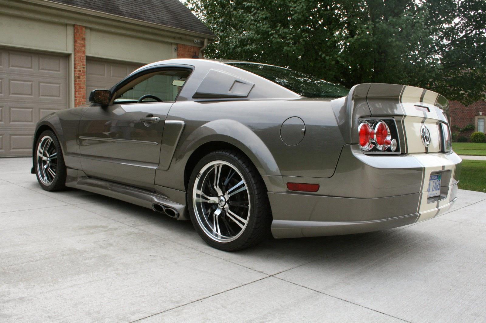 2005 Custom Ford Mustang Eleanor Cervini Twin Turbo V6