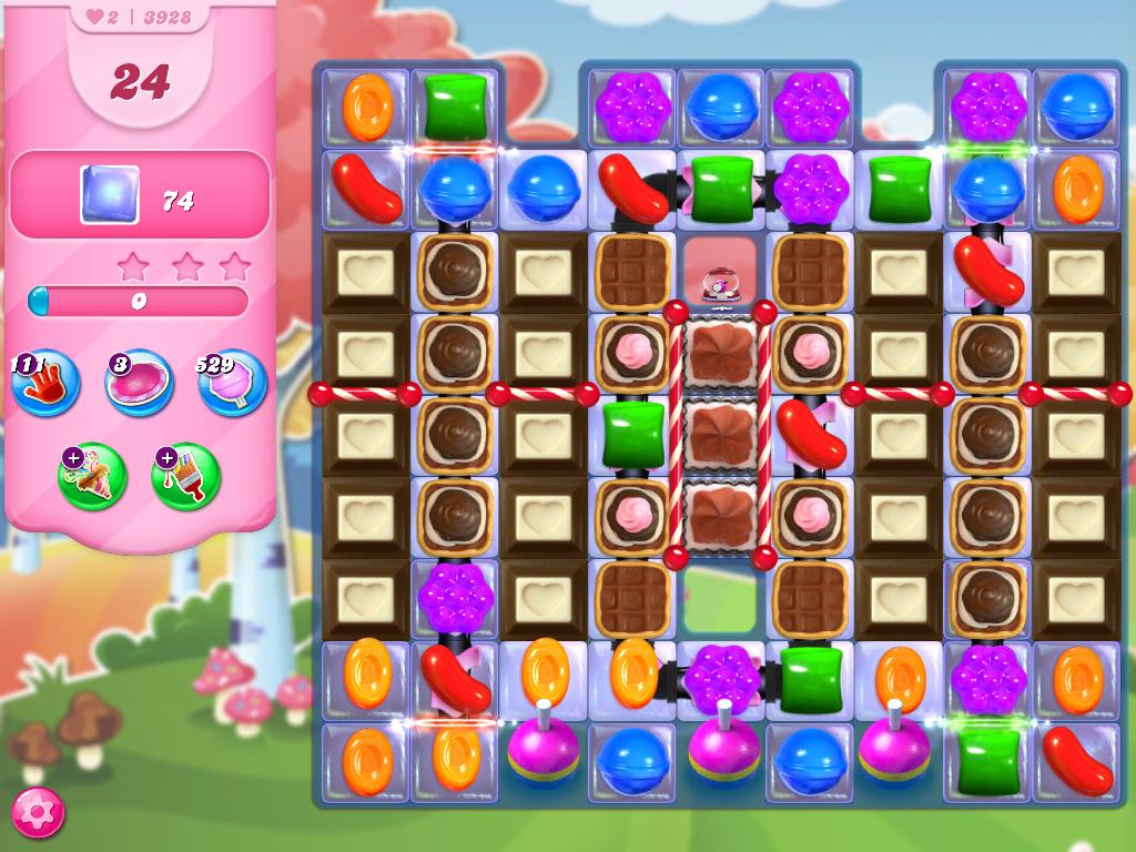 Candy Crush Saga level 3928