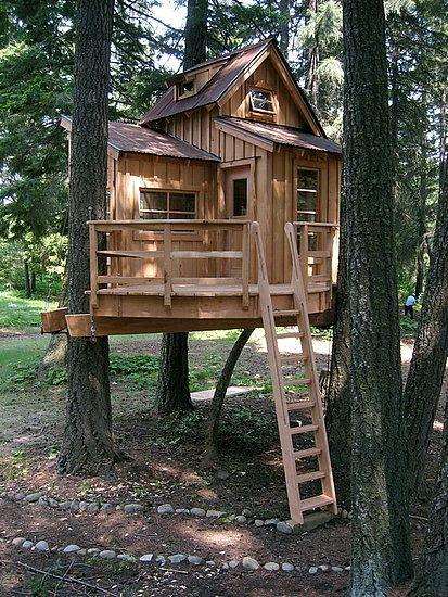 55 Desain Rumah Pohon Unik dan Fantastis Rumahku Unik