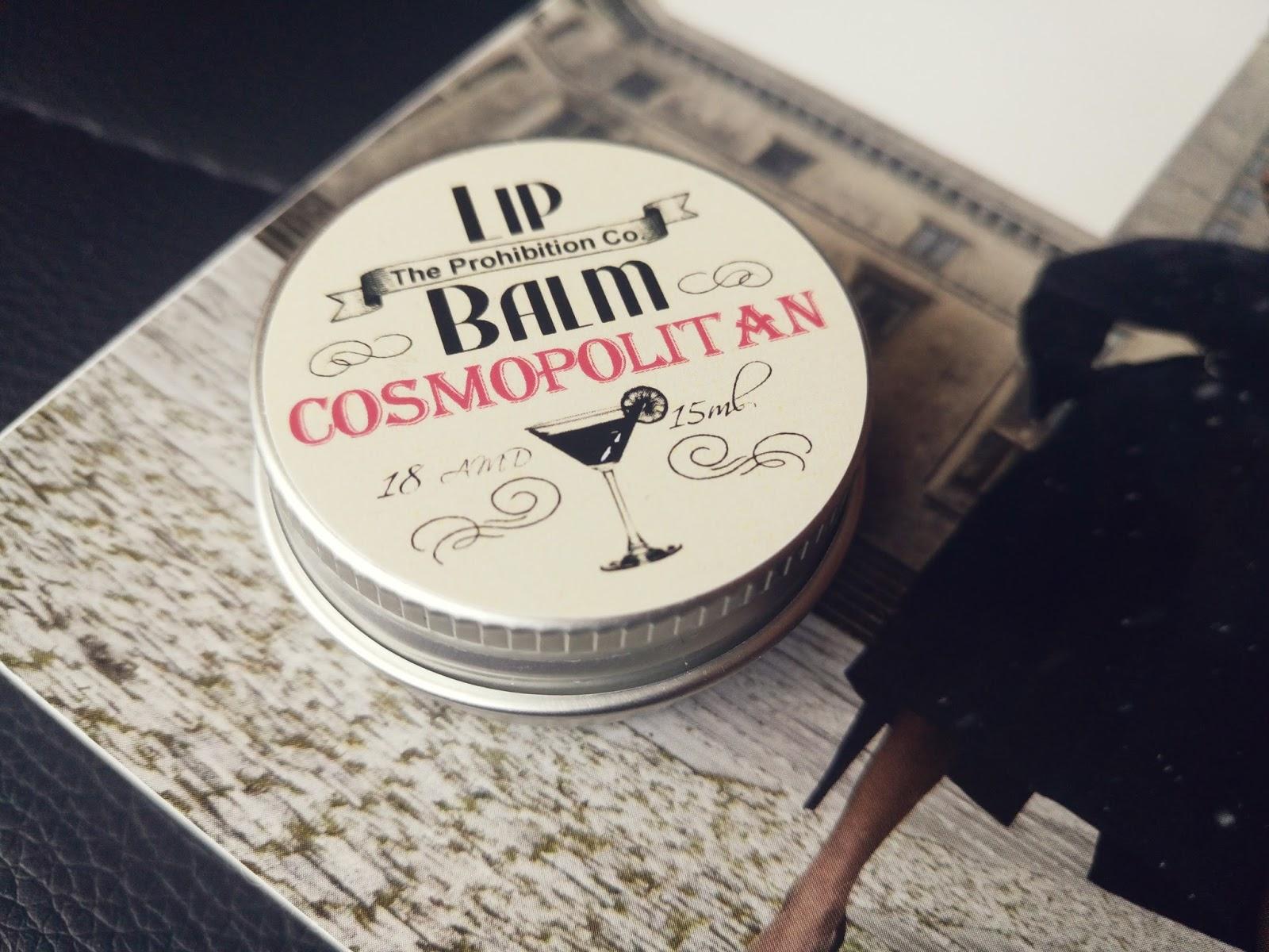 The Prohibiton Co. Balsam do ust Pudełko U.R.O.K Edycja XXII Inspiredby