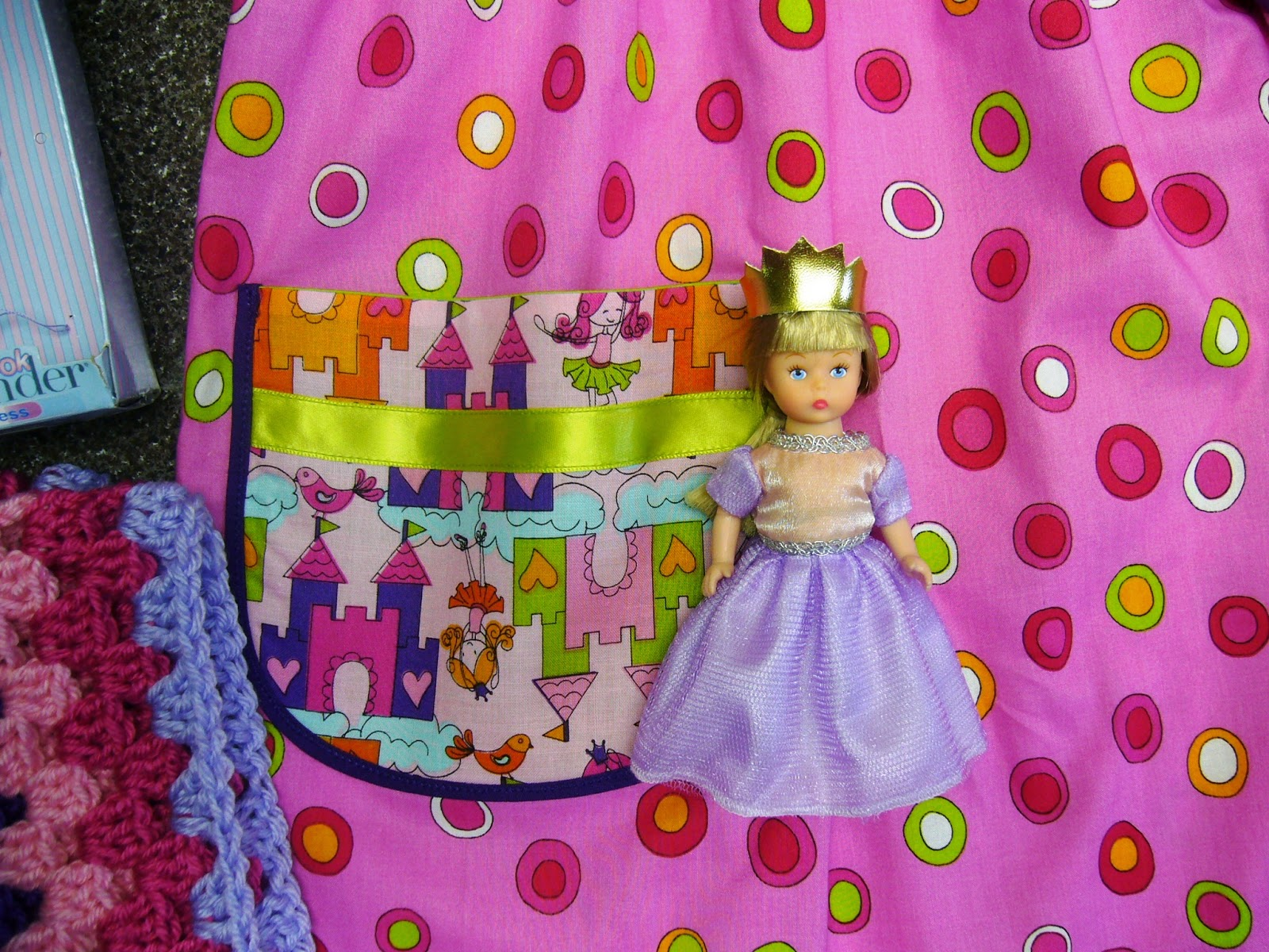 Princess themed Operation Christmas Child shoebox.