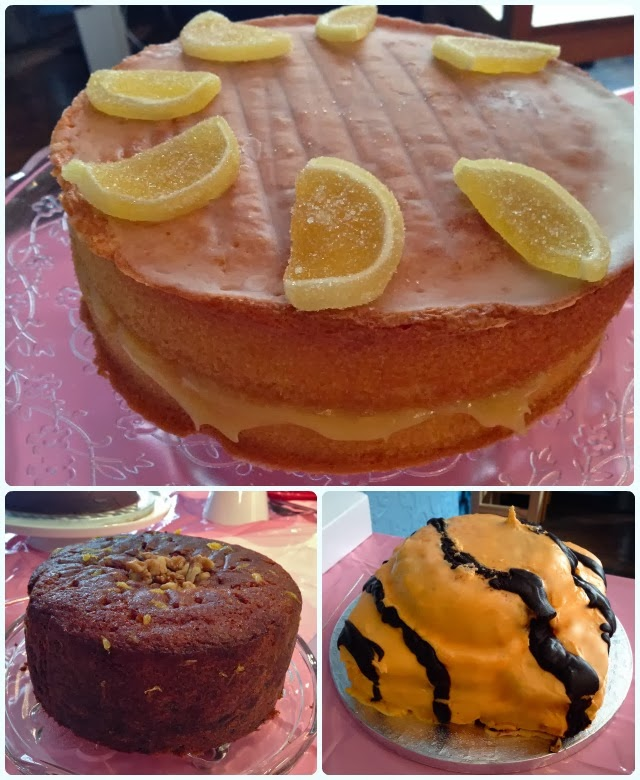 Orange Champagne Cake Recipe