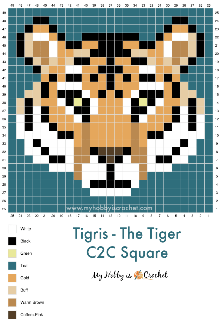 """Tiger Graph c2c Square"