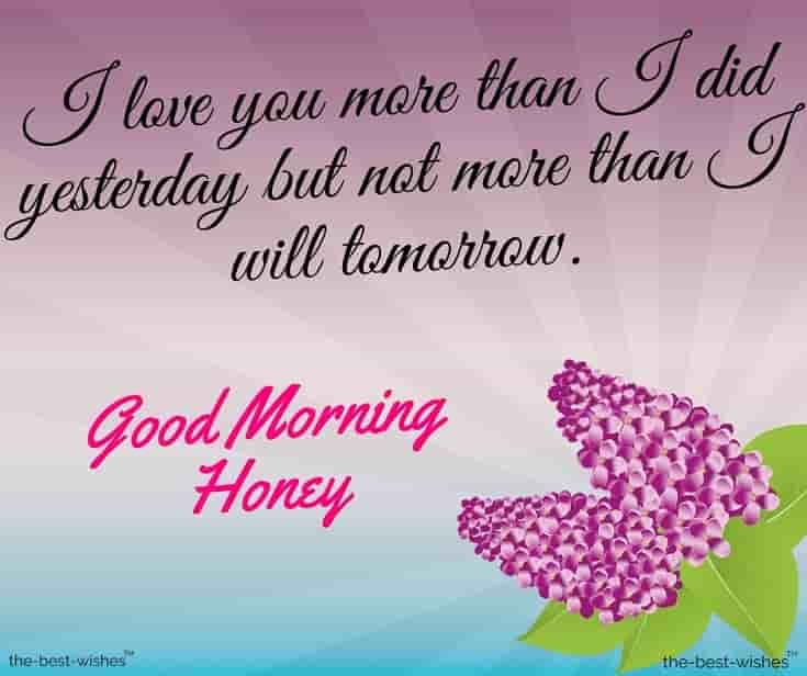 have a good day honey quotes images