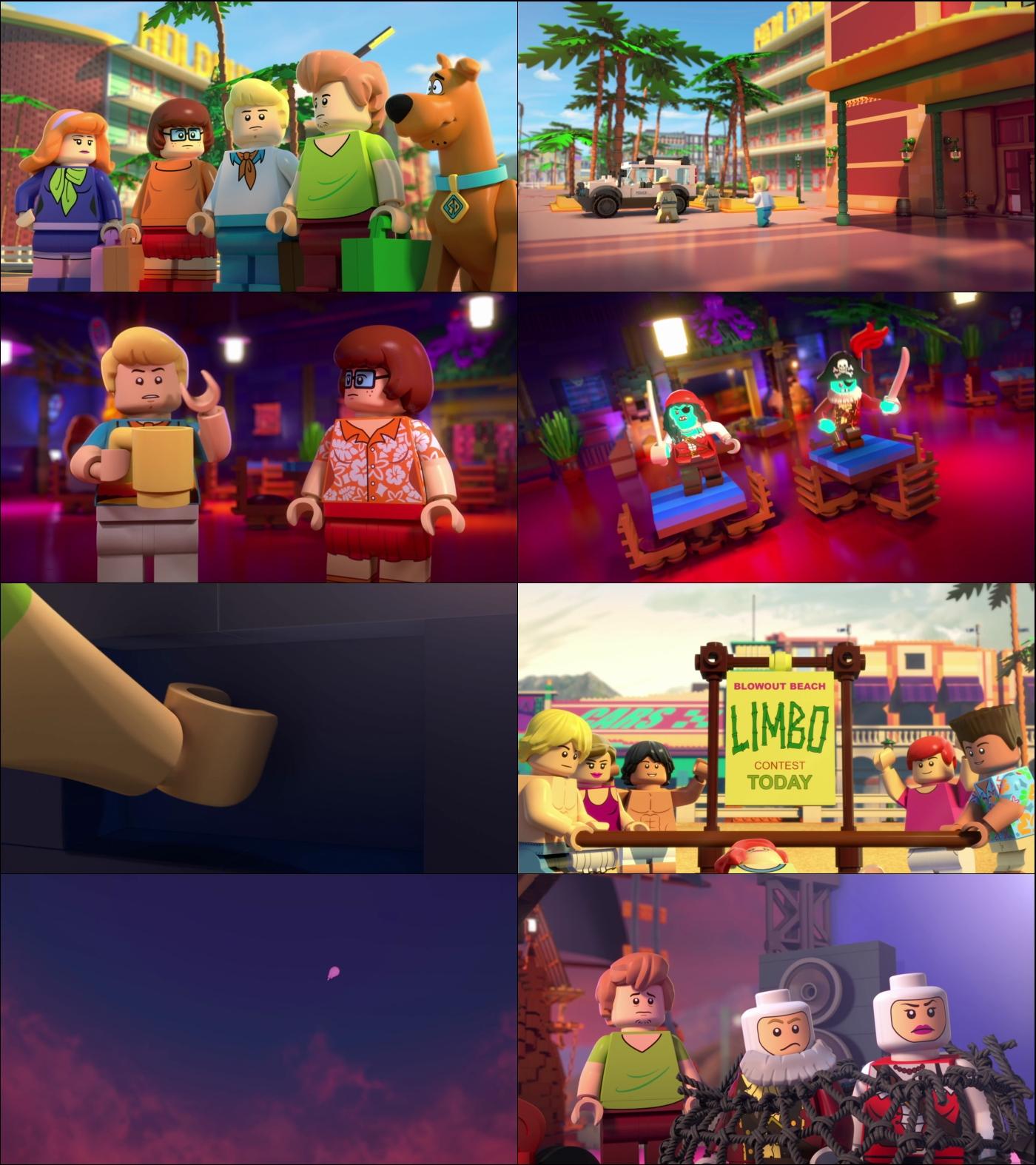 Lego Scooby Doo Fiesta en la playa de Blowout 1080p Latino