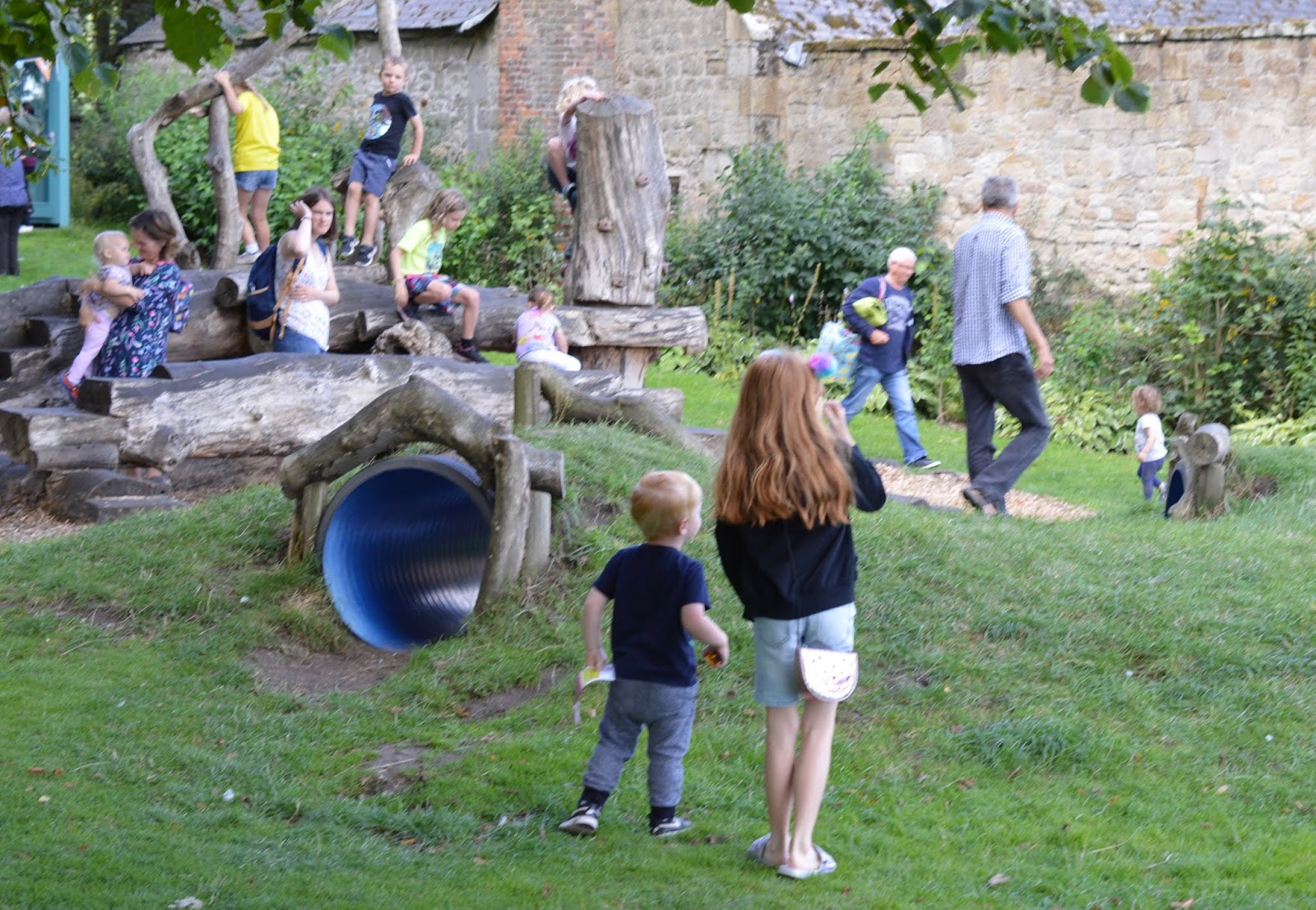10 Reasons to Visit Seaton Delaval Hall  - natural play area