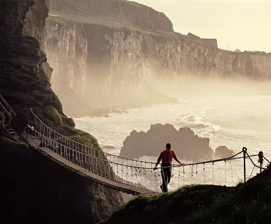 Irish Eye Candy: Carrick-a-Rede Rope Bridge