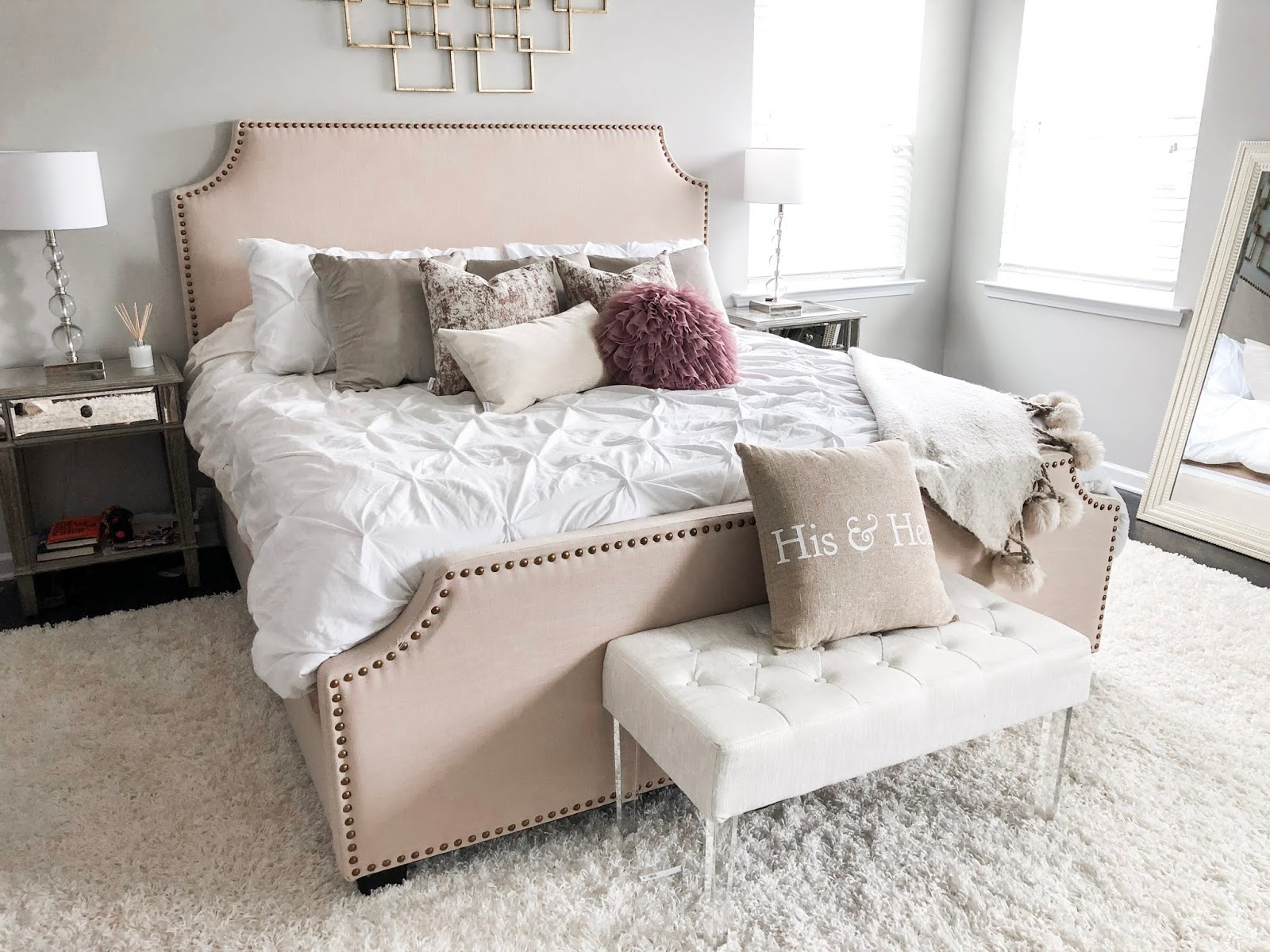 Master Bedroom Reveal W/Defined Designs... | The Dainty Darling