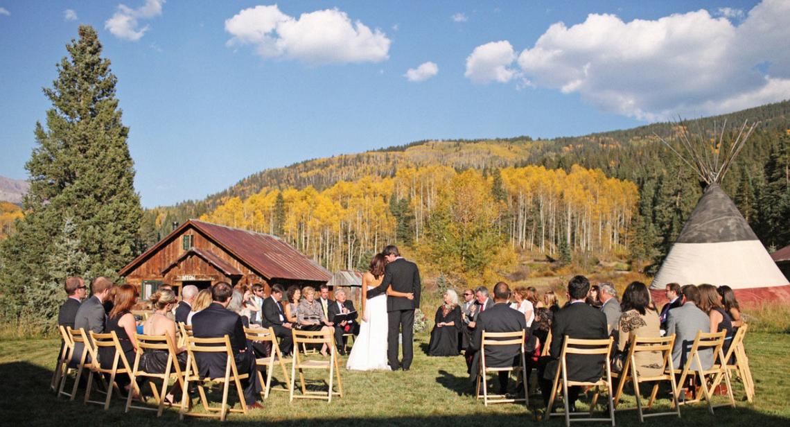 Dunton Hot Springs Dolores CO Wedding Venues