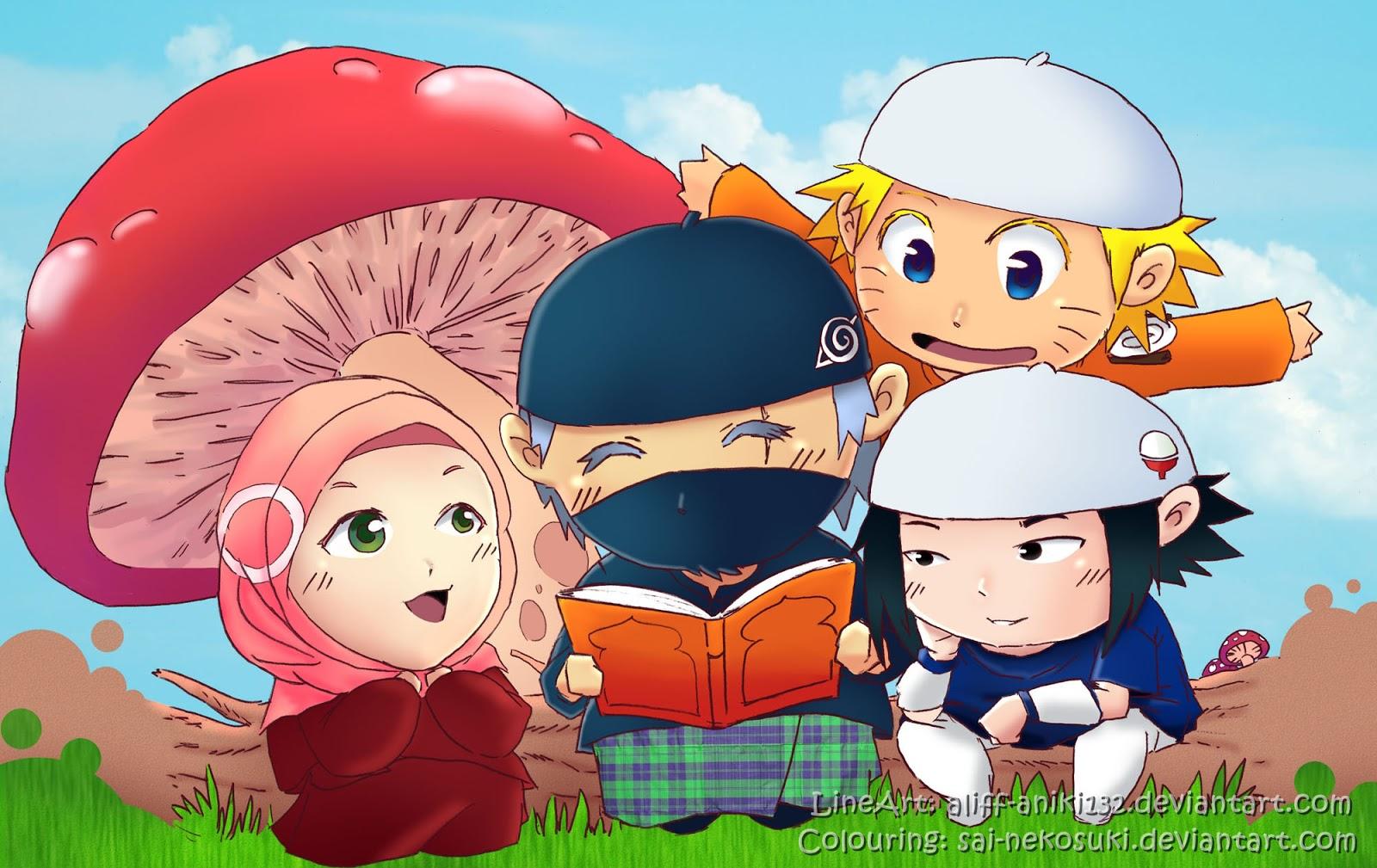 Kartun Naruto Muslim Kolek Gambar