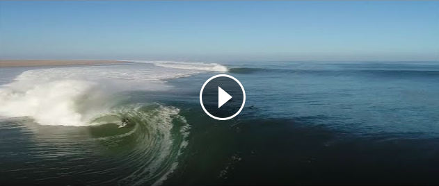 The Heaviest Skeleton Bay Barrel Ridden Yet SURFER Magazine s Bite Size Oliver Kurtz