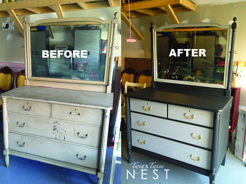 My Twig And Twine Nest A Nelson Matter Dresser Makeover