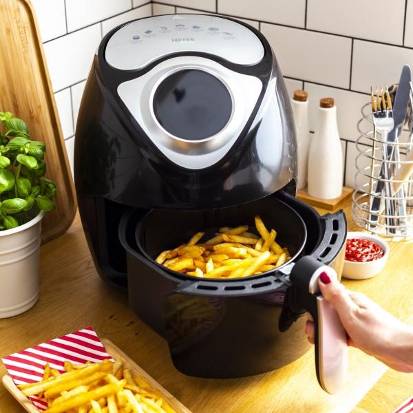 Ogromny Testujemy produkty z Biedronki: Frytownica beztłuszczowa Hoffen AF PH87