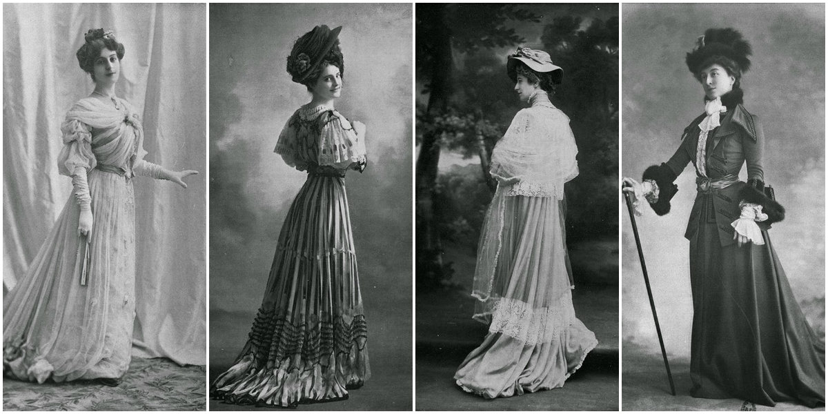 1900 Women Attire Every Day