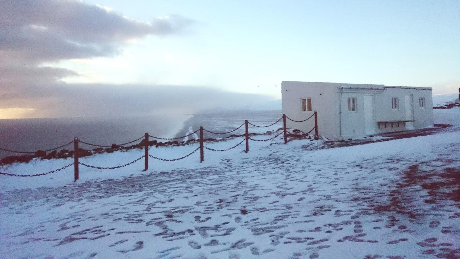 Dyrholaey, barierki na Dyrholaey, bezpieczeństwo na Islandii, wypadki Islandia