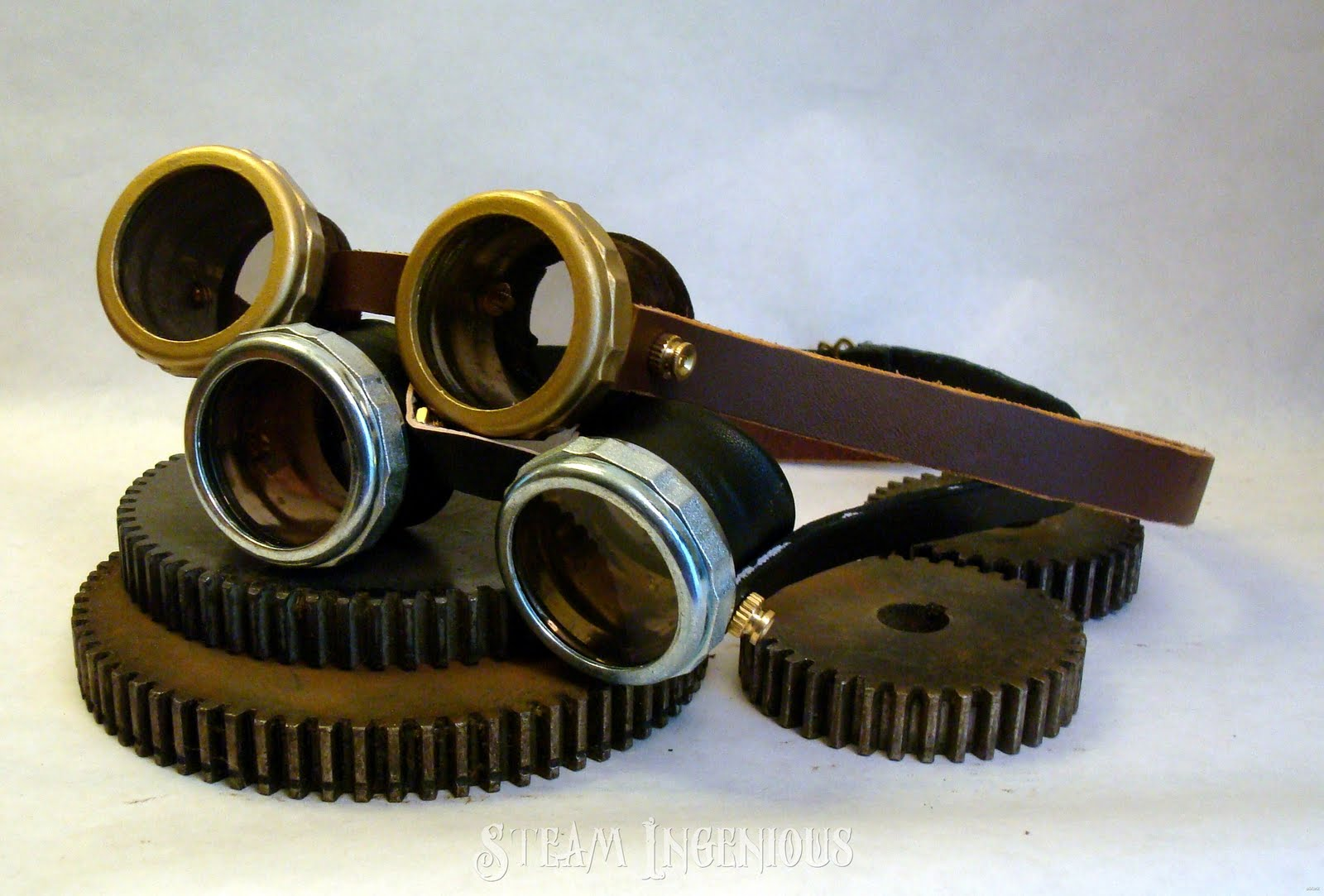 Steam Ingenious: Announcing DIY Steampunk Goggle Kits Now ...