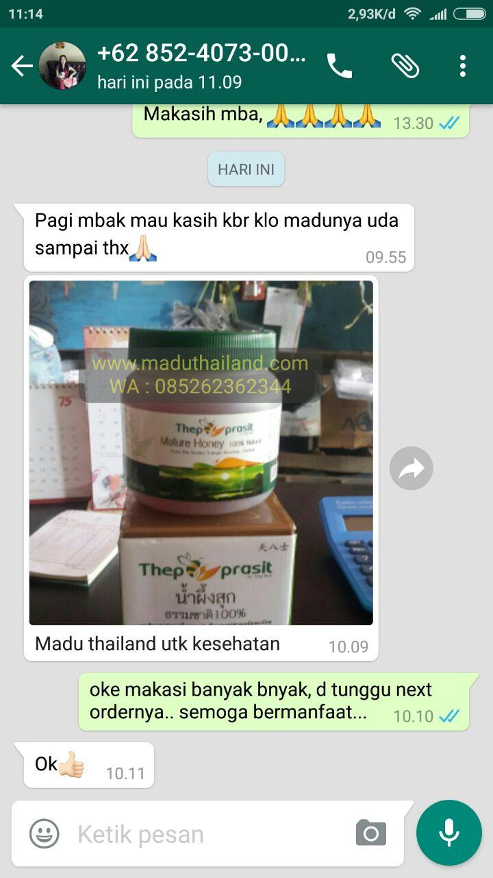 Jual Madu Thepprasit Asli Thailand