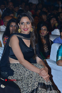 Actress Pragya Jaiswal Stills in Black Dress at Om Namo Venkatesaya Audio Launch Event  0014.JPG