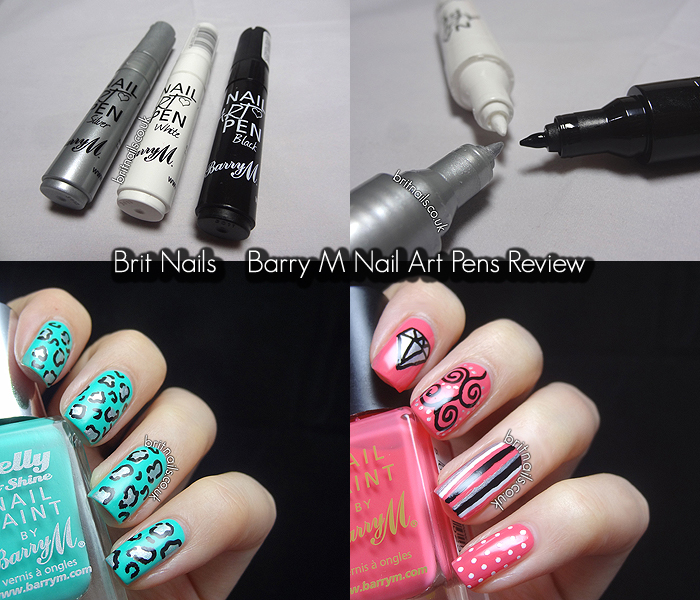 Nail Art Pens: Barry M Nail Art Pens Review
