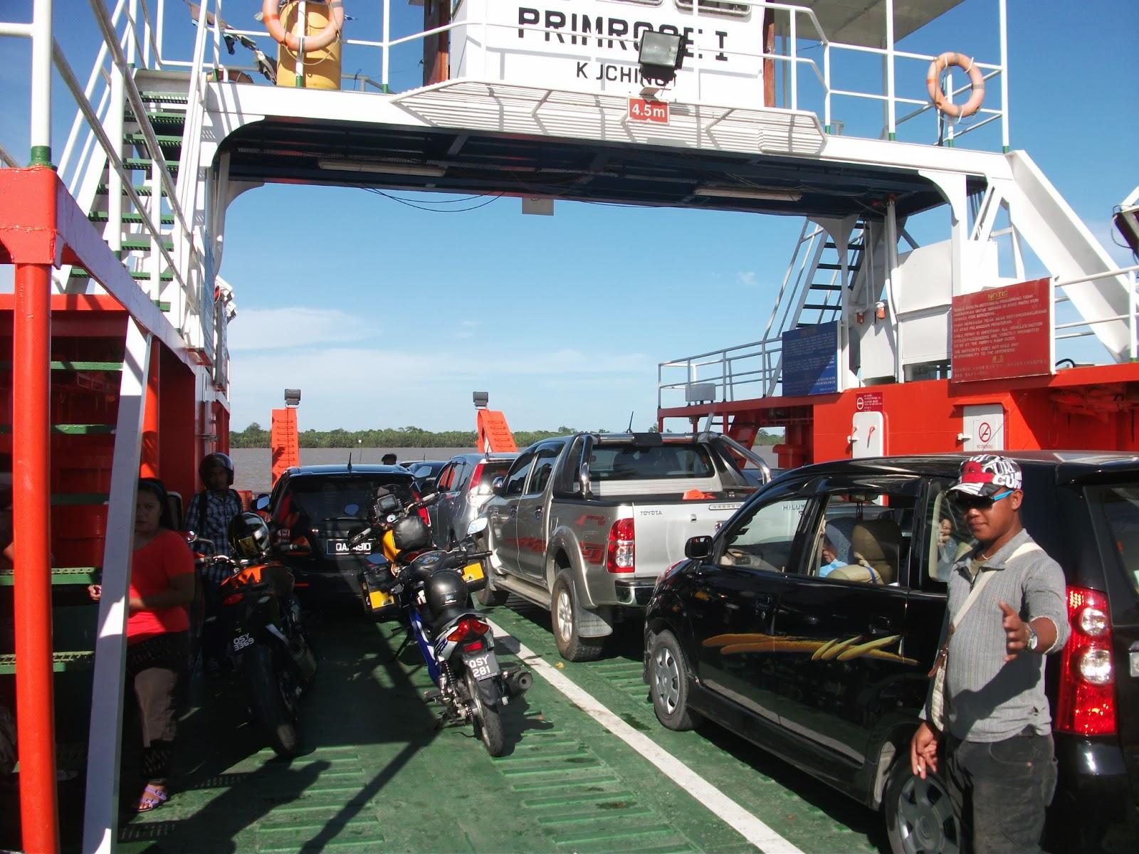 Primrose I - the Batang Saribas ferry