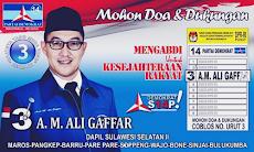 Biodata Andi Ali Gaffar Calon Legislatif DPR RI Suami Andi Soraya