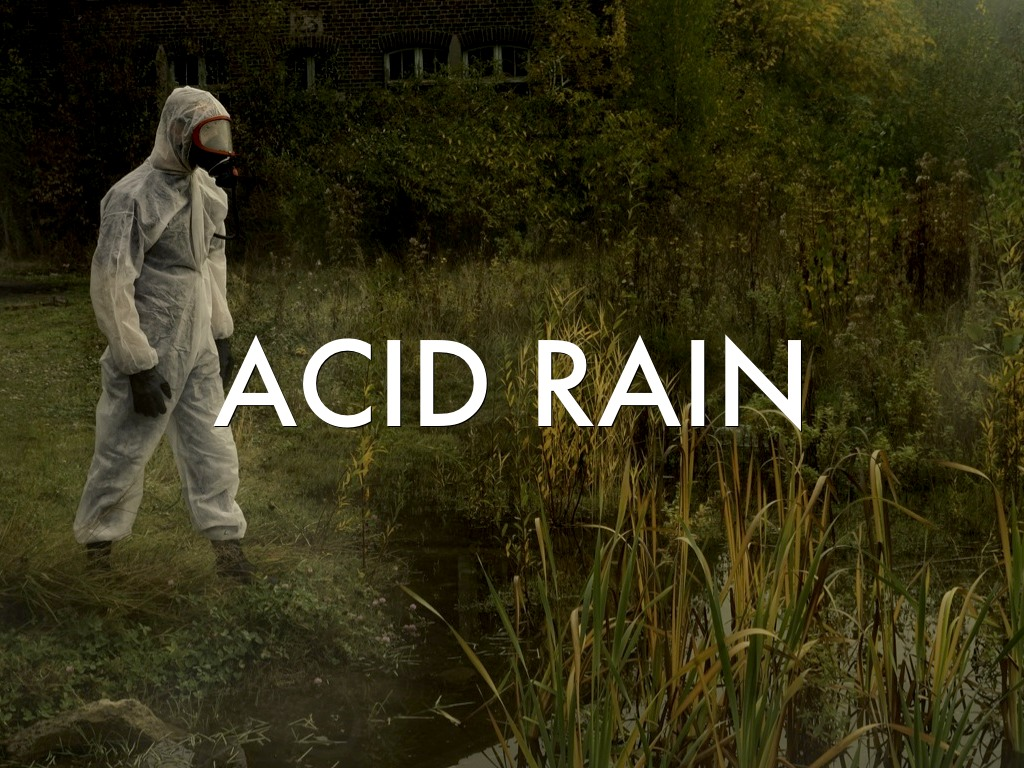 Acid rain speech