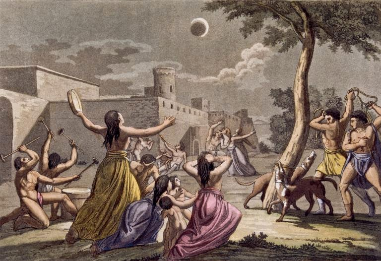 Myths about Lunar eclipse - Creatikaa