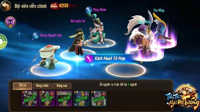 Game điện thoại mới Tiểu Tiểu Ngũ Hổ Tướng