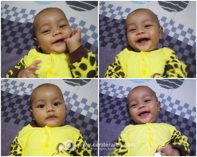 Faiz Mikail dah 5 bulan!!