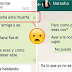 Filtran esta extraña conversación de Whatsapp… desearás nunca no haberla leído …