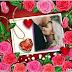 Molduras de rosas para o dia dos namorados