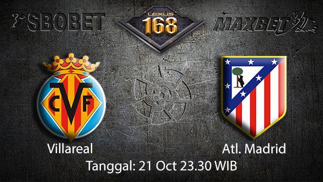 Prediksi Bola Jitu Villarreal vs Atl. Madrid 21 September 2018 ( Spanish La Liga )