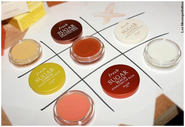 Avis Gamme Lip Balm, Sugar by Fresh chez Sephora - Blog